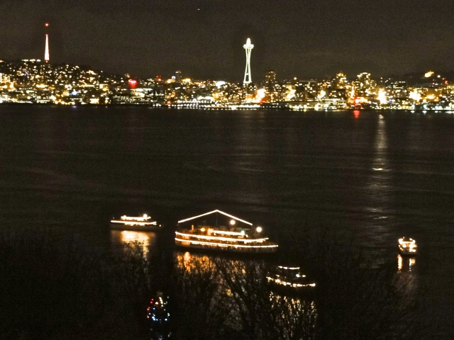 Last night's view - Carol Ships in the Harbor