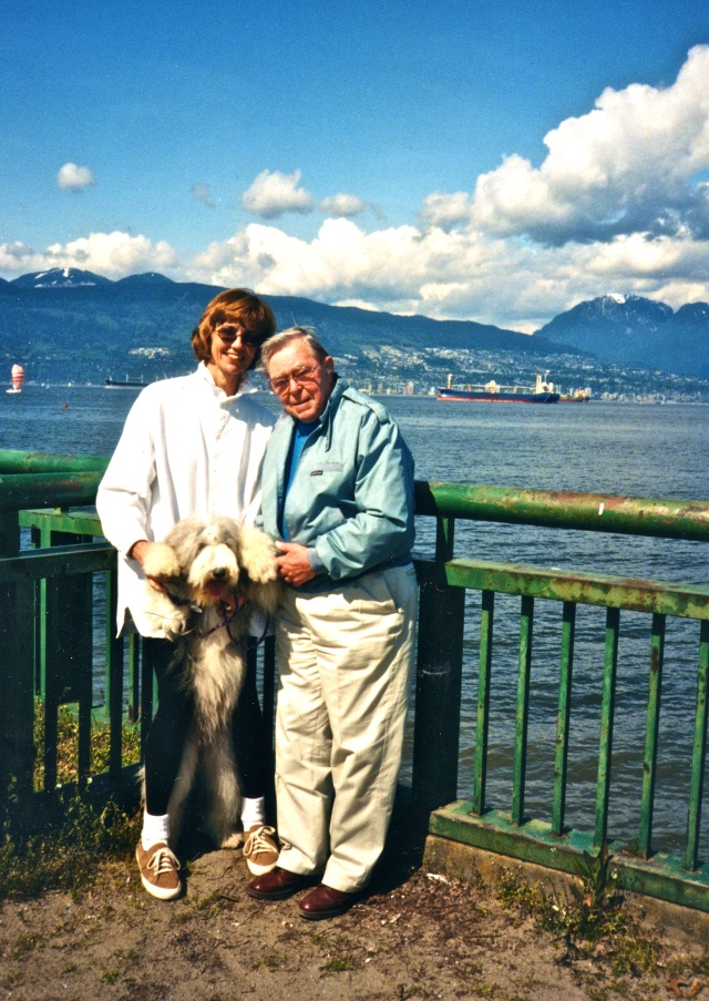 Dad & me in Vancouver