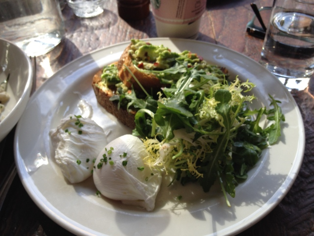 Avocado Toast, at Joseph Leonard, West Village, NYC