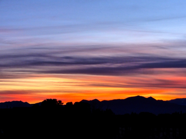Evening Sky, January 29