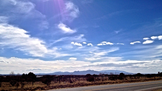 An afternoon walk - Santa Fe, yesterday