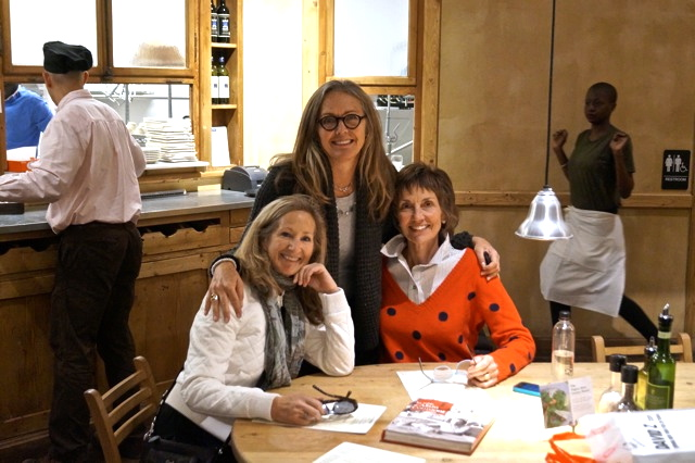 Jane, Carol and me in NYC, October, 2013
