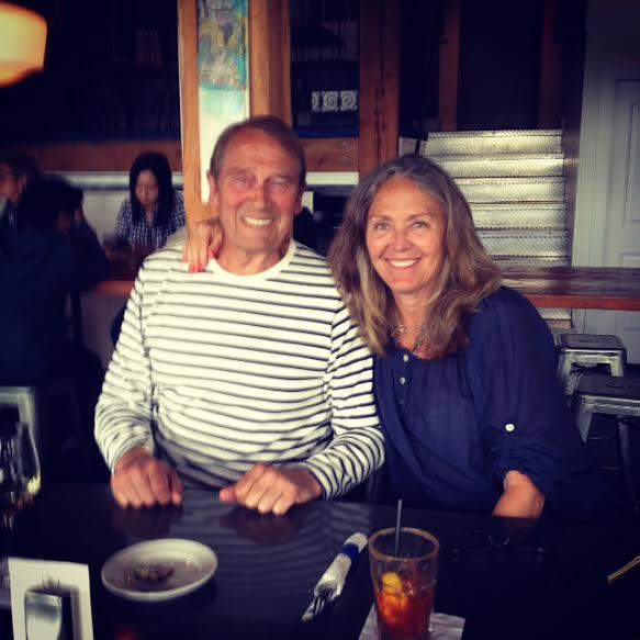 Carol and handsome husband, Paul