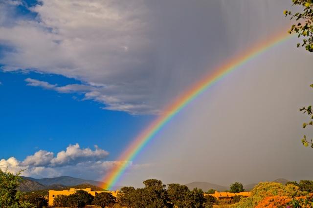 IPhone rainbow shot